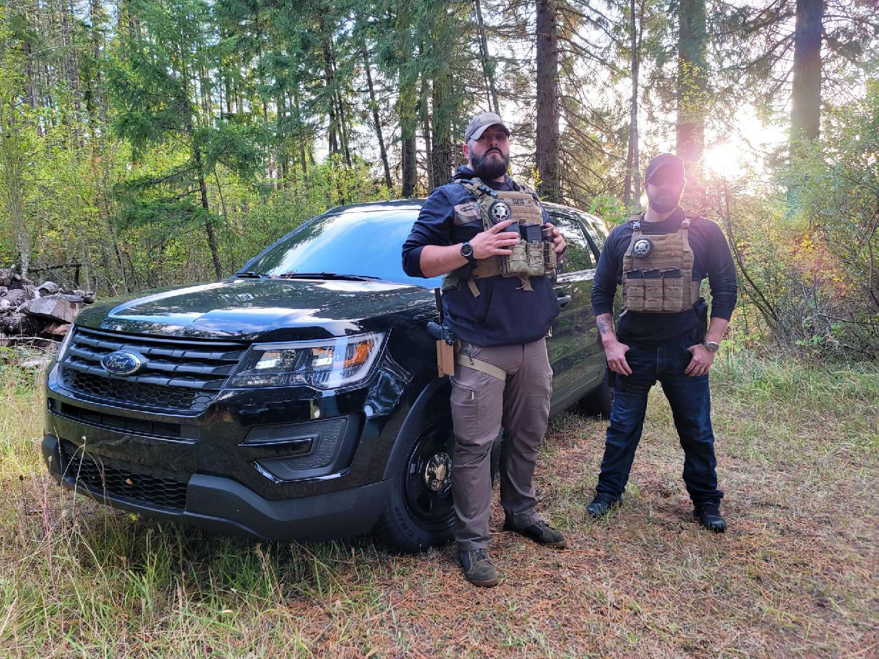 Iron Shield Security Owners Logan Jason Oregon Security Contractor Company Services